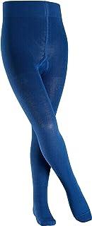 FALKE Strumpfhose Family Baumwolle Kinder schwarz weiß viele weitere Farben verstärkte Kinderstrumpfhose ohne Muster blickdicht Baumwollstrumpfhose einfarbig 1 Stück