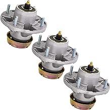 8TEN Deck Spindle Assembly for John Deere X520 X500 X530 LT133 LT155 LT166 AM124498 AM131680 AM135349 AM144377 3 Pack