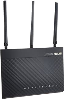 ASUS  WiFi 無線LAN ルーター RT-AC68U 11ac デュアルバンド AC1900 1300+600Mbps 最大18台 4LDK 3階建 【 iPhone X / XS 対応 】