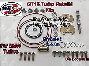 Turbo Lab America Garrett GT15 GT17 GT1749V GT25 Turbo Rebuild kit