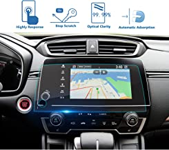 LFOTPP Fit for 2017 2018 2019 2020 CRV EX EX-L Touring 7-Inch Car Navigation Screen Protector, Clear Tempered Glass Infotainment Display in-Dash Center Touch Stereo Screen Protector