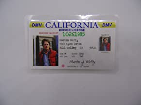 Hatcherabilia Marty McFly Novelty ID Back to The Future Replica Prop