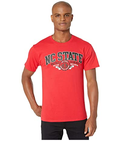 Champion College NC State Wolfpack Jersey Tee (Scarlet 3) Men