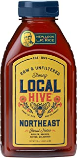 Local Hive Northeast Raw & Unfiltered Honey, 16oz
