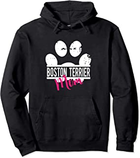 38daf44e0a Boston Terrier Mom Hoodie Dog Pet Lover Gift For Her
