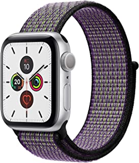 Apple Watch Kordon 42 / 44 mm Seri 2 3 4 5 Spor Loop Kordon Çöl Kumu / Volt