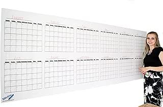 Dry Erase Wall Calendar - Blank 12 Month Large Wall Calendar- 36