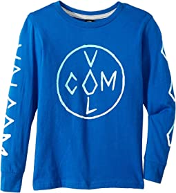 Volcom Kids - Cross Long Sleeve Tee (Toddler/Little Kids)