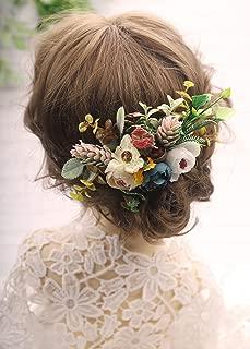 shabby flower headband ideas