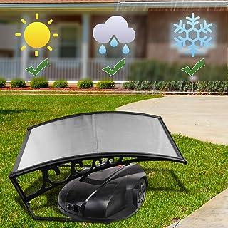 Hengda Toit de Garage 105x85x45cm Couverture de Garage Polycarbonate pour tondeuse à Gazon Robot Carport pour Les tondeuse...