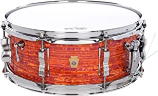 Ludwig Legacy Mahogany Jazz Fest Snare Drum - 5.5 Inches X 14 Inches - Mod Orange