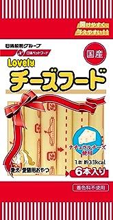 ラブリー (Lovely) 犬用おやつ 犬猫用チーズフードプレーン (10g×6本入り)×4袋 (まとめ買い)