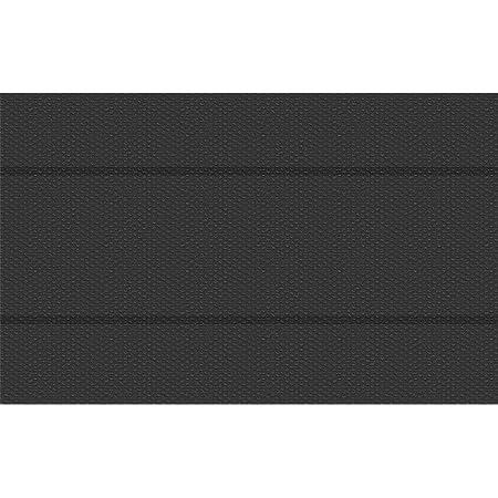 TecTake 800710 Manta Solar para Piscina, Cubierta Rectangular Impermeable, Acortable, Negro - Varios Tamaños (5 x 8 m | No. 403099)