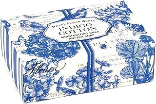 Michel Design Works 4.5oz Boxed Single Shea Butter Soap, Indigo Cotton