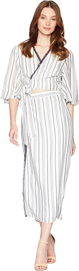 Aries Stripe Shirtdress