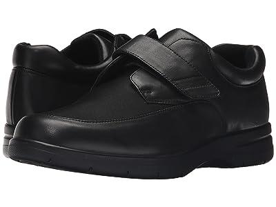 Drew Journey II (Black Leather/Black Stretch) Men