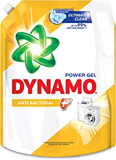 Dynamo Power Gel Laundry Detergent Refill, Anti-Bacterial, 2.4L