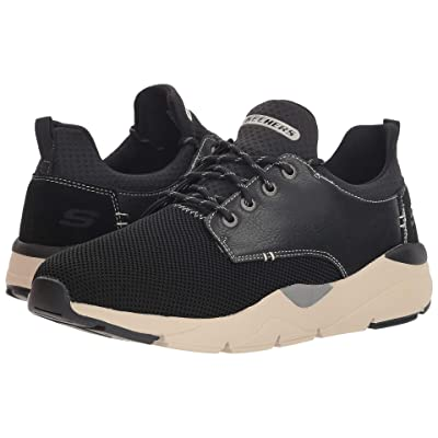 SKECHERS Relaxed Fit(r) Recent Sereno (Black) Men