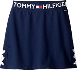 Tommy Hilfiger Kids - Side Lace-Up Skirt (Big Kids)