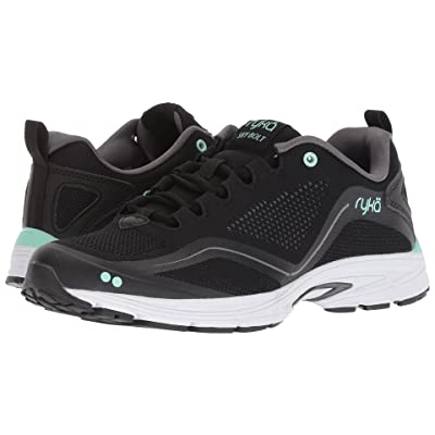 Ryka Sky Bolt (Black/Grey/Mint) Women
