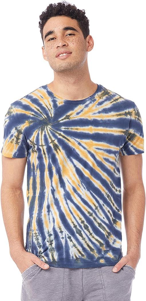 Navy Spiral Tie-Dye