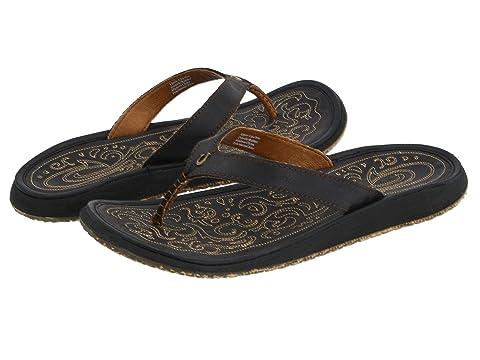20182017 Sandals OluKai 'Ohana Leather Slide On Sales