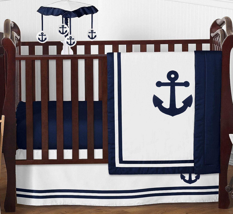 Sweet Jojo Designs Nautical Anchor latest Today's only Baby Crib Boy Girl or Nursery