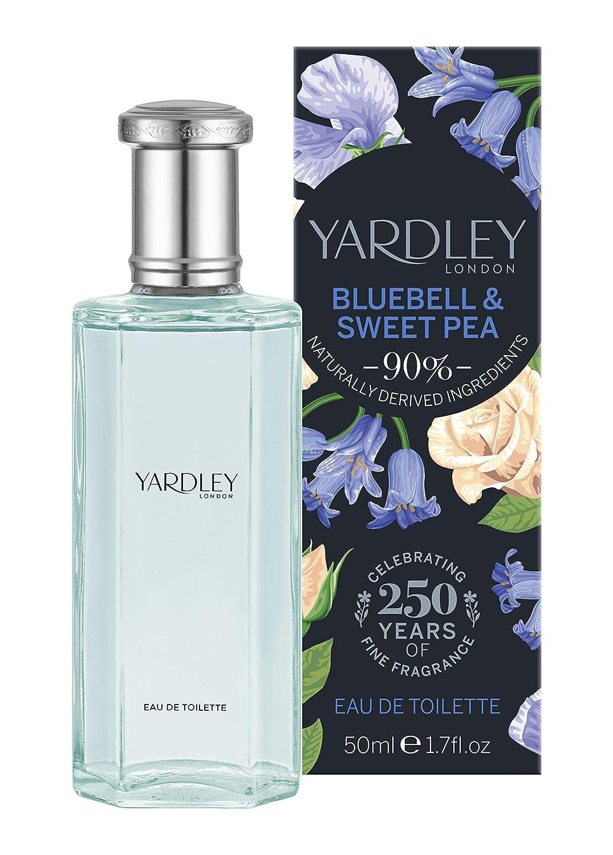 Yardley London Bluebell Sweet supreme 50ml pea EDT Genuine Free Shipping