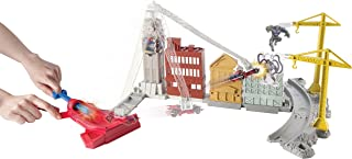 Hot Wheels Marvel Spidey's Spinning Web Swing Track Set by