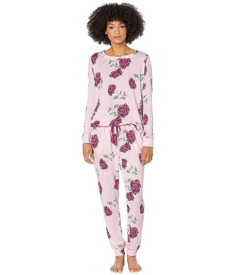 Kate Spade New York Brushed Sweater Knit Pajama Set