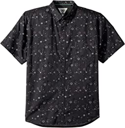 Creators Woven Top Short Sleeve (Big Kids)