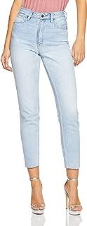 Lee Women's Hi Licks Crop High Super Skinny Jean