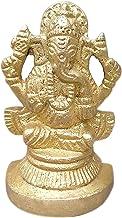 UNIQUE HUBS Ganesha Statue Brass Statue Ganesh Idol Brass Sculpture Murti Gift Mini Temple Puja Ganesha Ganpat Idol Statue...