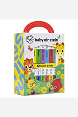 Baby Einstein - My First Library Board Book Block 12-Book Set - First Words, Alphabet, Numbers, and More! - PI Kids Board book