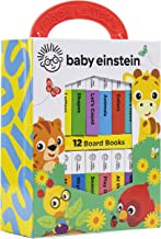 Baby Einstein - My First Library Board Book Block 12-Book Set - PI Kids (Baby Einstein (Board Books))
