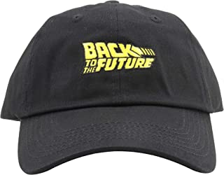 Back to The Future Hat Dad Hat Marty's 80s Time Travel Machine Baseball Cap