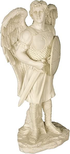 AngelStar Archangel Michael Garden Angel Statue 24 Inches High 12204
