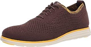 حذاء اوكسفورد بخياطة مزدوجة اصلية للرجال من كول هان