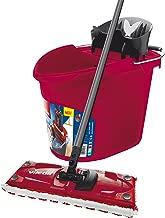 Vileda Ultramat 2in1Box Floor Cleaning Set, Plastic, red, 29.5x 45cm 2Units