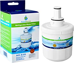 AquaHouse AH-S3G Compatible for Samsung Water Filter DA29-00003G, HAFCU1/XAA, HAFIN2/EXP, DA97-06317A, Aqua-Pure Plus, HAFIN 2 Fridge Filter