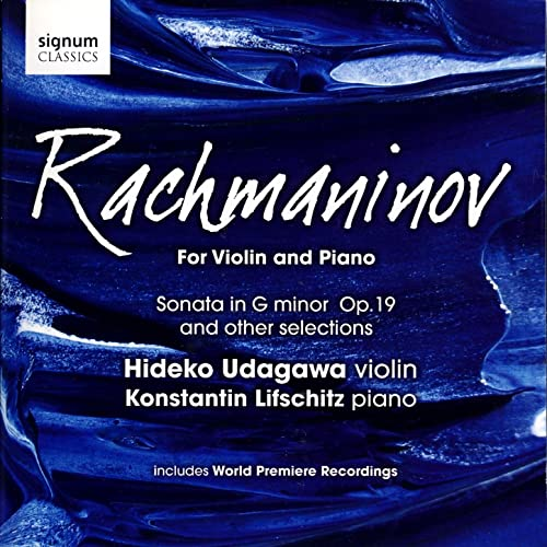Rachmaninov for Violin and Piano