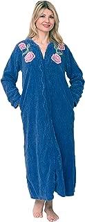 Bath & Robes Women's Full Length 100% Cotton Chenille Robe