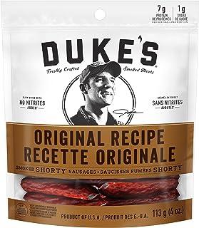 DUKE's Smoked Shorty Sausages - Original (Pack of 8)