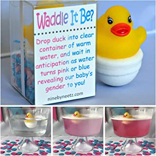 'Waddle It Be?' Gender Reveal Fizz Set of 2