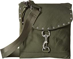 Nylon Flap Crossbody