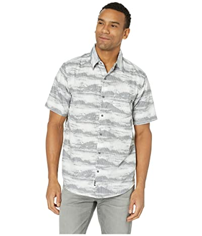 Marmot Syrocco Short Sleeve Shirt (White Mountains) Men