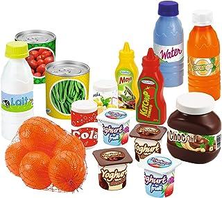 Jouets Ecoiffier – 2644 - Pack Drive 100 % Chef – Imitations d'aliments pour enfants – 20 pièces – Dès 18 mois – Fabriqué ...