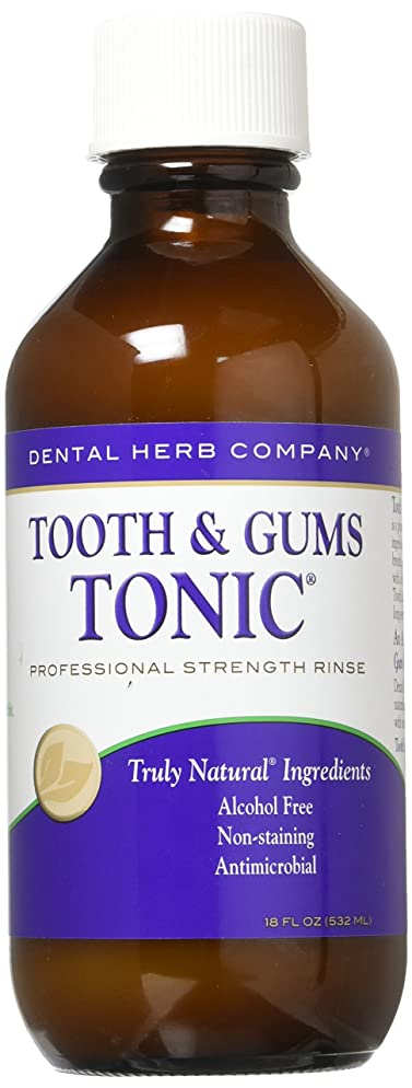 Dental Herb Company Tooth and Gums Tonic 18oz Bottle