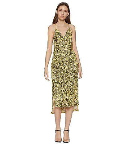 BCBGeneration Cocktail Drape Pocket Midi Dress TTY6169244 (Multi) Women