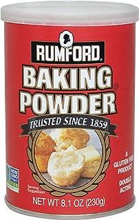 Rumford Baking Powder, 8.1 ounces - 12 pack